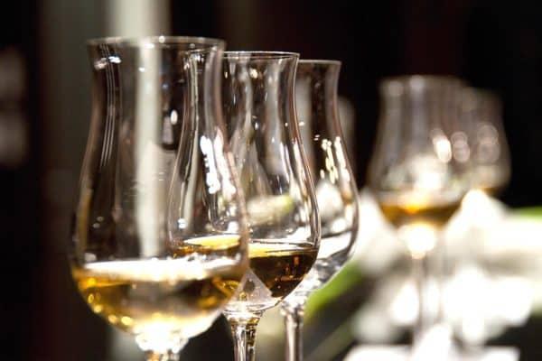 Selezione ottimi vini dalla cantina della Trattoria du Ruscin a Genova